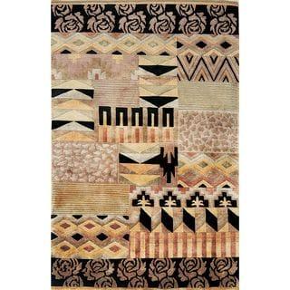 Valencia 272 Multicolor Tribal Rug
