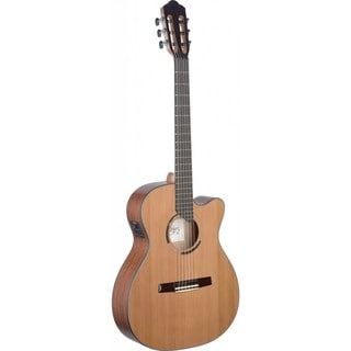Angel Lopez ERE HYB-CFI S Eresma Series Cutaway Acoustic-electric Classical Guitar (Option: Natural)