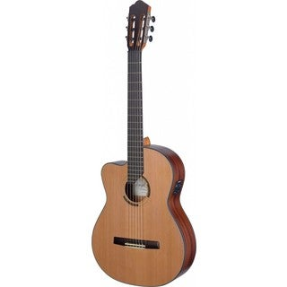 Angel Lopez Eresma Series Cutaway Left-handed Acoustic-electric Classical Guitar (Option: Natural)