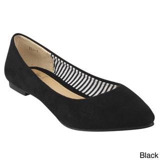 Betani FB67 Women's Casual Solid Ballet Flats