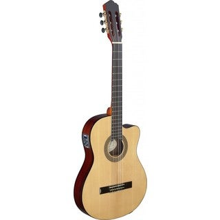 Angel Lopez CER TCE S Cereza Series Thin Body Cutaway Acoustic-electric Classical Guitar (Option: Natural)