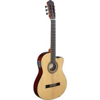 Angel Lopez CER TCE S Cereza Series Thin Body Cutaway Acoustic-electric Classical Guitar|https://ak1.ostkcdn.com/images/products/12020356/P18895159.jpg?impolicy=medium