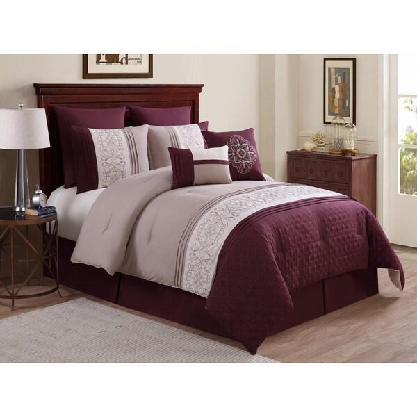 VCNY Tursi 8-piece Comforter Set