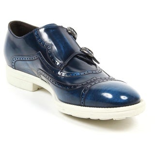 Dolce and Gabbana CA6292 AC129 80605 Men's Milano Derby Shoes