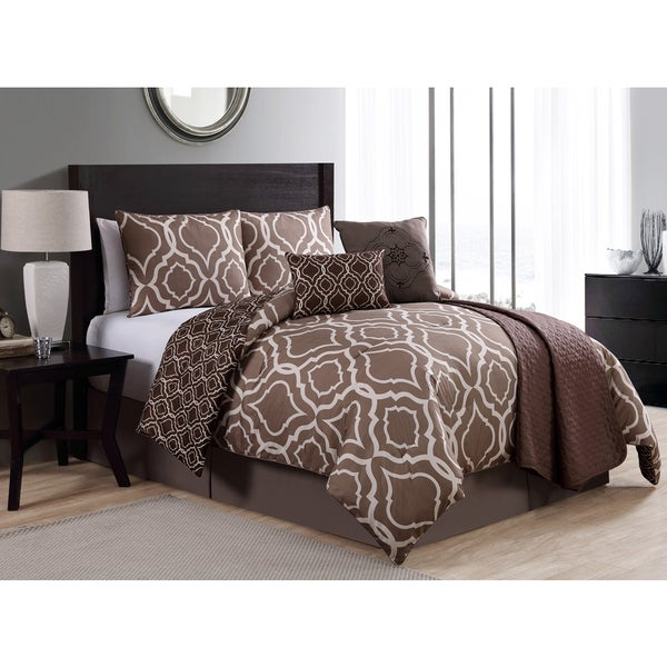 VCNY Savoy 7-piece Comforter Set