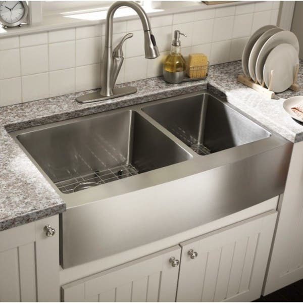 Starstar Stainless Steel 35 Inch X 20 60 40 Double Bowl