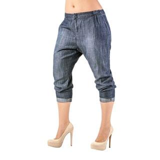Standards & Practices Louise Women's Pleat Front Light Wash Tencel Pants