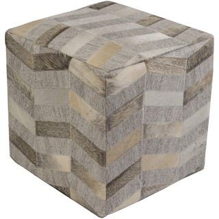 Cassadee 18-inch Viscose/Hair On Hide Square Pouf https://ak1.ostkcdn.com/images/products/12020496/P18895368.jpg?impolicy=medium