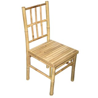 Set of 2 Bamboo Dining Chairs (Vietnam)