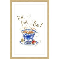 Marmont Hill 'Tea G' Framed Painting Print