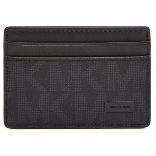 Michael Kors Jet Set Black Card Case