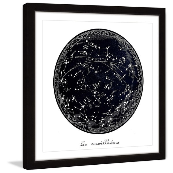 Marmont Hill - Handmade Constellations Framed Print
