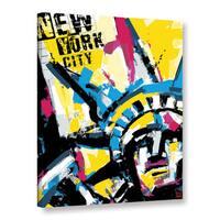 Bomo's 'NY1' Gallery Wrapped Canvas