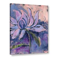 Pamela J. Wingard's 'Blush Lily' Gallery Wrapped Canvas