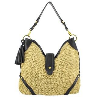 MoDA Bohemian Beach Bag Travel Tote Hobo Handbag