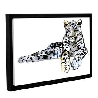 Mark Adlington's 'Arabian Leopard II' Gallery Wrapped Floater-framed Canvas