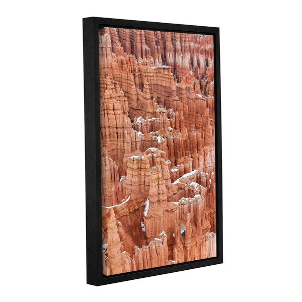 Cody York's 'Bryce Canyon Hoodoos' Gallery Wrapped Floater-framed Canvas - Multi