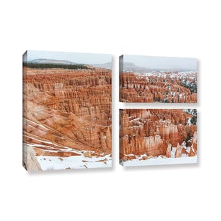 Cody York's 'Bryce Canyon ' 3 Piece Gallery Wrapped Canvas Flag Set