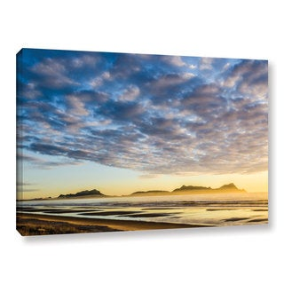 Andrew Lever's 'Sunrise At Lang's Beach' Gallery Wrapped Canvas