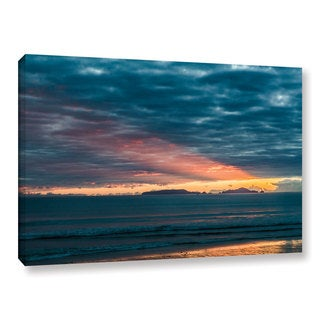Andrew Lever's 'Sunrise at Sandy Bay' Gallery Wrapped Canvas