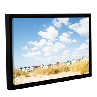 Andrew Lever's 'Cloudhuts01' Gallery Wrapped Floater-framed Canvas
