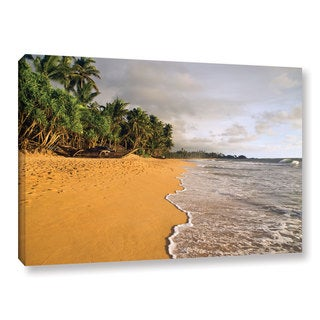 Andrew Lever's 'Sri Lankan Beach' Gallery Wrapped Canvas