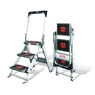 Little Giant Aluminum 3-step Safety Step Ladder