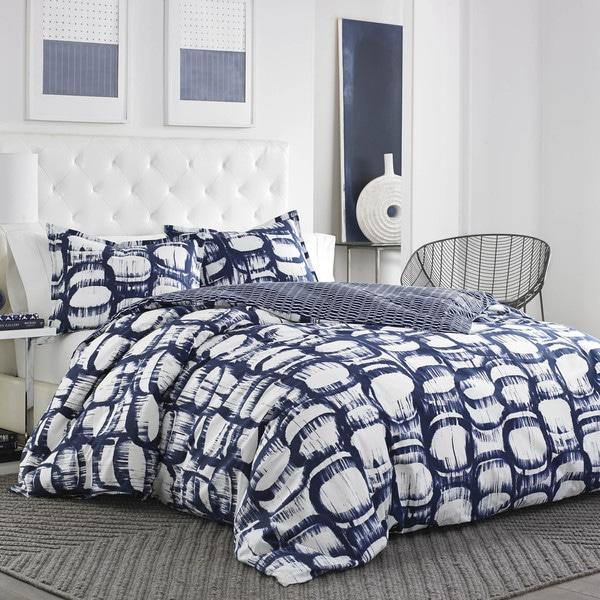 City Scene Liam Navy Cotton Comforter Set