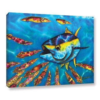 Daniel Jean-Baptiste's 'Tuna & Squid' Gallery Wrapped Canvas