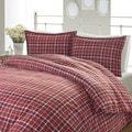 Laura Ashley Highland Check Flannel Comforter Set