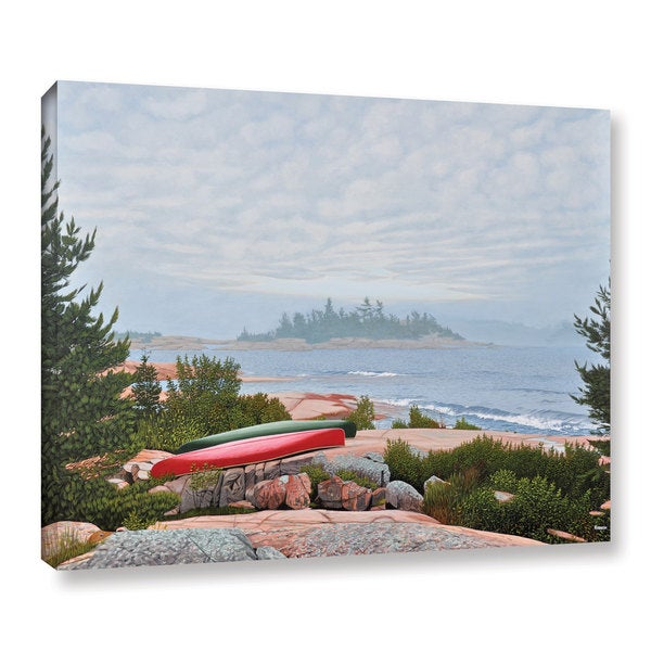 Shop Ken Kirsh S Le Hayes Gallery Wrapped Canvas Free