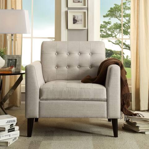 Moser Bay Estrella Tufted Arm Chair