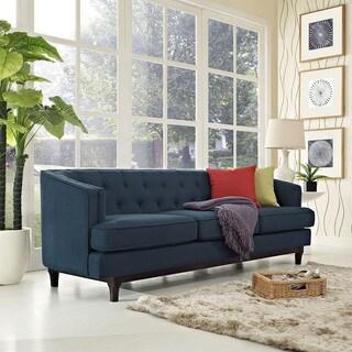 Modway Mid Century Modern Tufted Coast Sofa