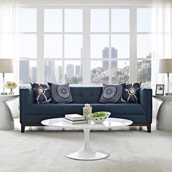 Shop Strick Bolton Vinnie Mid Century Modern Sofa On Sale Free