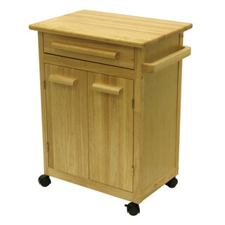 Winsome Wooden 1-drawer Restaurant Kitchen Cart