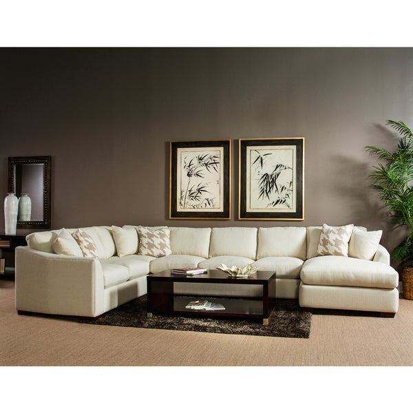 Dunes 3 Piece Sectional With Right Hand Facing Chaise