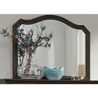 Gracewood Hollow Butler Antique Washed Walnut Mirror - Brown