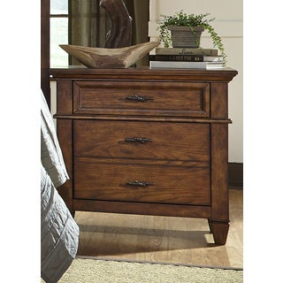 Rocky Mountain Whiskey Brown 2-Drawer Nightstand