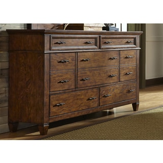 Rocky Mountain Whiskey Brown 7-Drawer Dresser