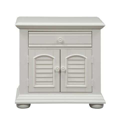 Summer House Oyster White Cottage Nightstand