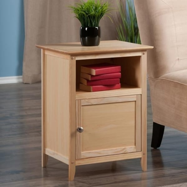 Shop Winsome Wooden Home Decor Living Room Nightstand Free