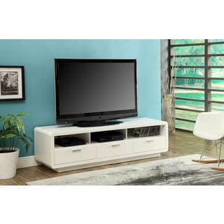 Randell White MDF TV Stand