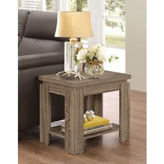 Xanti Dark Taupe Side Table