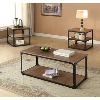 Kenton Black Oak 24-inch Cubic End Table