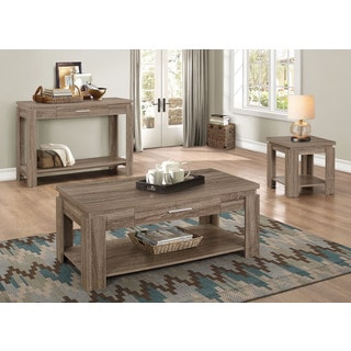 Xanti Dark Taupe End Table