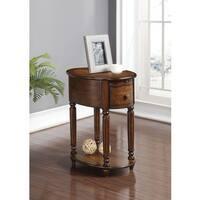 Peniel Dark Oak Side Table