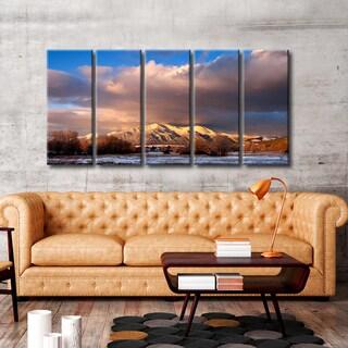 Ready2HangArt 'Taos Mountain 8137' by Bartlett Hayes
