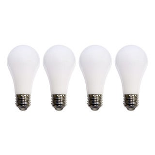 Meilo 60-watt Equivalent Soft White A19 Shatter-resistant LED Light Bulbs (Pack of 4)
