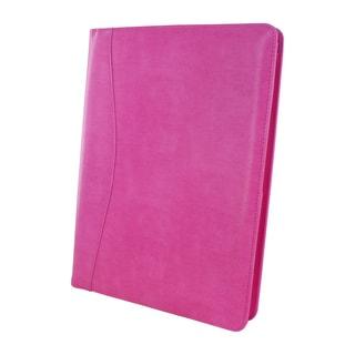 Royce Leather Aristo Breast Cancer Pink Padfolio Document Organizer