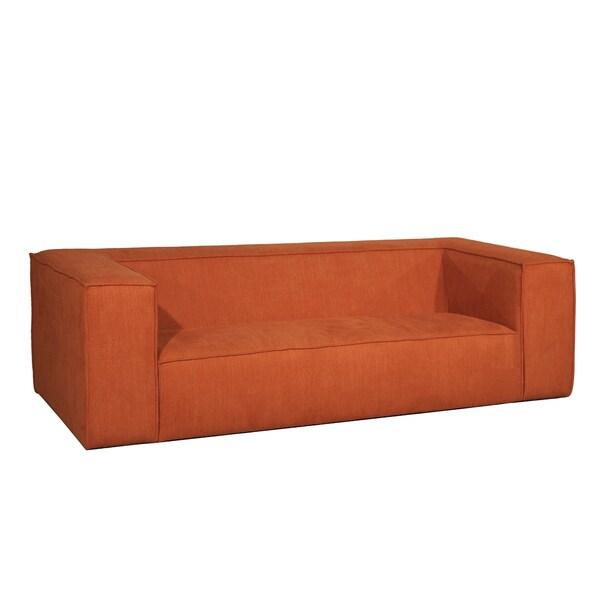 Milano Orange Sofa Free Shipping Today